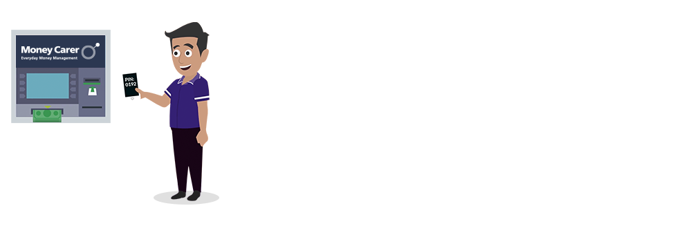 Receive a text message and PIN code instantly so carers and volunteers can shop for vulnerable people