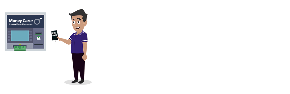 Receive a text message and PIN code instantly so families can support a loved one